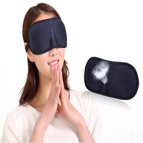 3D立體遮光睡眠眼罩(2入組)/