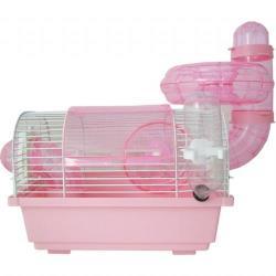 737-A小圓頂鼠籠 含監視哨 附鼠槽 飲水器 滾輪 豪華鼠籠 老鼠籠子/黃金鼠/布丁鼠/倉鼠/三線鼠
