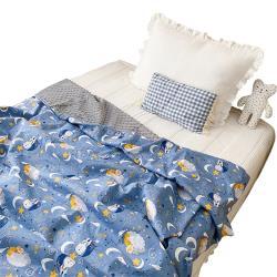 親膚泡泡毯 加大尺寸嬰兒毯 蓋被 棉被被套