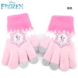冰雪奇緣兒童手套觸控手套觸屏觸控螢幕手套保暖手套 451084/451091【卡通小物】
