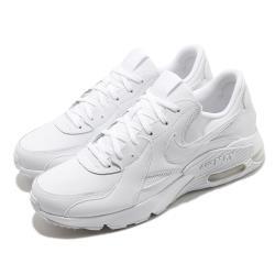 Nike 休閒鞋 Air Max Excee 運動 男女鞋 氣墊 舒適 避震 皮革 簡約 情侶穿搭 白 DB2839100 [ACS 跨運動]