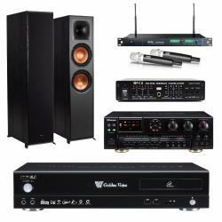 金嗓 CPX-900 R2伴唱機 4TB+OKAUDIO AK-7+MIPRO ACT-869+Klipsch R-820F+FBC-9900