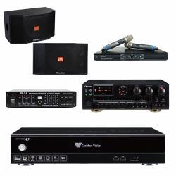 金嗓 CPX-900 A5伴唱機 4TB+OKAUDIO AK-7+MR-865 PRO+Karabar KB-4310M+FBC-9900
