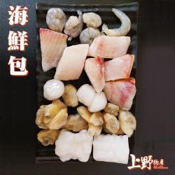 【上野物產】綜合海鮮包(230g±10%/包) x15包