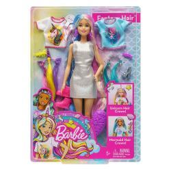 MATTEL 芭比娃娃 - 芭比夢幻髮型組