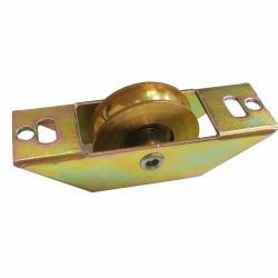 鋁窗銅輪 1000型 2個入 玻璃門窗銅輪 船型銅輪 落地門輪 鋁門滾輪 鋁門專用戶車 銅輪 機械輪 輥輪 五金DIY