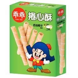 【乖乖】乖乖捲心酥-奶油椰子風味150g/盒