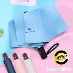 QIDINA 抗UV兩用自動摺疊傘 4色任選