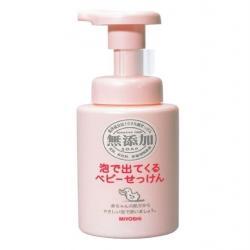 日本【Miyoshi】無添加 幼兒用泡沫沐浴乳