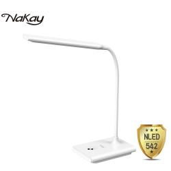NAKAY 充電式無段調光LED檯燈3000mAh NLED-542
