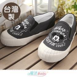 魔法Baby 女鞋 台灣製迪士尼米奇正版新潮帆布鞋~sd3149