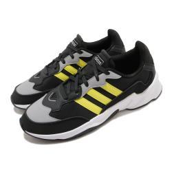 adidas 慢跑鞋 20 20 FX 運動休閒 男鞋 愛迪達 路跑 緩震 透氣 穿搭推薦 黑 黃 EH0548 [ACS 跨運動]