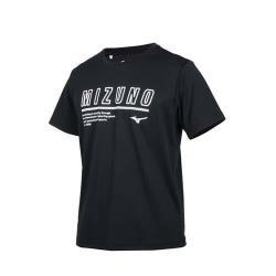 MIZUNO 男短袖T恤-台灣製 吸濕排汗 抗UV 慢跑 咖啡紗 美津濃