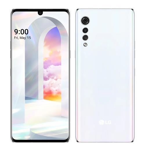 LG樂金5G智慧手機6G/128G/VELVET奶霜克林姆手機白色LMG900EMW-W/