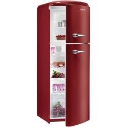 瑞典賽寧ASKO歌蘭尼Gorenje-ONRK193R酒紅色-獨立式復古冰箱-分眾