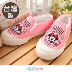 魔法Baby 女鞋 台灣製迪士尼米妮正版新潮帆布鞋~sd3153