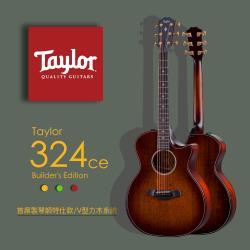 【Taylor 泰勒】Taylor 300系列 -公司貨保固 (324ce-Builder Edition)