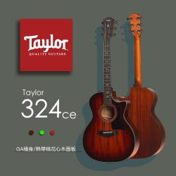 【Taylor 泰勒】Taylor 300系列 -公司貨保固 (324ce)