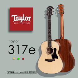 【Taylor 泰勒】Taylor 300系列 -公司貨保固 (317e)