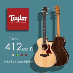 【Taylor 泰勒】Taylor 400系列 -公司貨保固 (412ce-R)