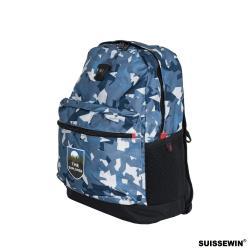 SUISSEWIN 戶外運動日常後背包 外出包 旅遊包 後背包