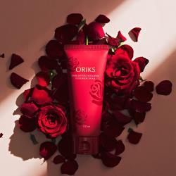 【ORIKS】玫瑰保濕精萃淨白洗卸乳(100ml)