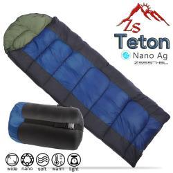 ZS Teton 奈米銀抗菌中空纖維保暖睡袋(ZS-557-黑藍)
