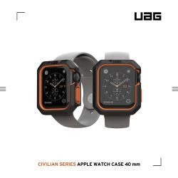 UAG Apple Watch 40mm 耐衝擊簡約保護殼-黑