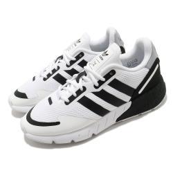 adidas 休閒鞋 ZX 1K Boost 男女鞋 愛迪達 基本款 情侶鞋穿搭 緩震 白 黑 FX6510 [ACS 跨運動]