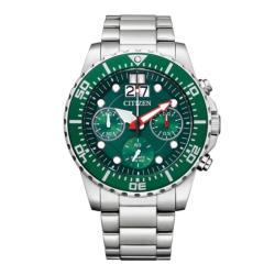 CITIZEN星辰 AI7009-89X 三眼計時腕錶