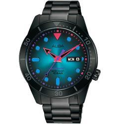 ALBA 雅柏 廣告款東京霓虹機械錶-42mm Y676-X035SD(AL4175X1)