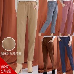 【A1 Darin】(五件組)日本VIP限定霧光絲絨名品褲