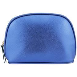 【LA MER 海洋拉娜】藍色壓紋化妝包