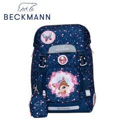 【Beckmann】兒童護脊書包22L-星空斑比
