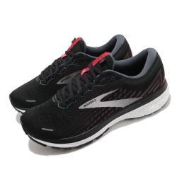Brooks 慢跑鞋 Ghost 13 運動 男鞋 路跑 緩震 DNA科技 健身 球鞋 黑 銀 1103481D044 [ACS 跨運動]