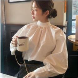 女純色襯衫