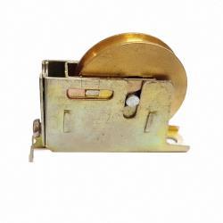 銅製氣密窗調整輪 118 1098型 2個入 氣密窗輪 培林銅輪 鋁窗輪 培林輪 機械輪 銅製滾輪 鋁門輪 滑輪