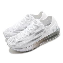 UA 慢跑鞋 HOVR Sonic 4 運動 女鞋 輕量 透氣 舒適 避震 路跑 健身 白 灰 3023559101 [ACS 跨運動]