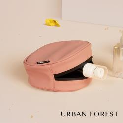 URBAN FOREST都市之森 樹-洗漱包/化妝包/小物收納包 鐵鏽粉