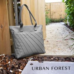 URBAN FOREST都市之森 LIGHT光線-托特包/側肩包 岩石灰