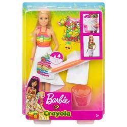 MATTEL 芭比娃娃 - 芭比繪兒樂驚喜水繪組