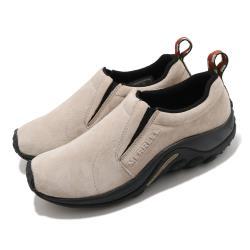 Merrell 休閒鞋 Jungle Moc 襪套式 女鞋 麂皮鞋面 避震墊片 穩定 耐磨 抓地 淺褐 黑 ML60802 [ACS 跨運動]