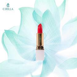 【CIRILLA】時尚耀金絲綢唇膏(口紅 唇膏 護唇)