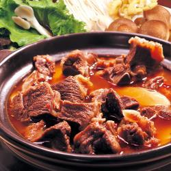 【村子口】 原汁紅燒羊肉爐-澎湃2入組(1200公克/包)