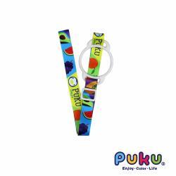 【PUKU藍色企鵝】 Color矽膠環水壺揹帶_水果