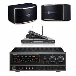 卡拉OK套組 NaGaSaKi BB-1擴大機+DoDo Audio SR-889PRO 無線麥克風+JBL Pasion 6喇叭