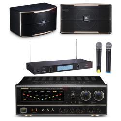 卡拉OK套組 NaGaSaKi BB-1擴大機+TEV TR-9688 無線麥克風+JBL Pasion 6喇叭
