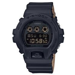 【CASIO 卡西歐】G-SHOCK 潮流休閒電子男錶 樹脂錶帶 黑色錶面 防水200米(DW-6900LU-1D)