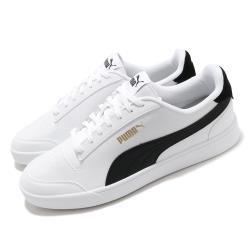 Puma 休閒鞋 Shuffle 運動 男女鞋 基本款 舒適 簡約 情侶穿搭 白 黑 30966803 30966803 [ACS 跨運動]
