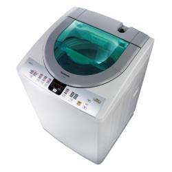 買就送時尚運動提袋★Panasonic國際牌13公斤泡沫洗淨直立式洗衣機(淡瓷灰)NA-130VT-L-庫(Y)